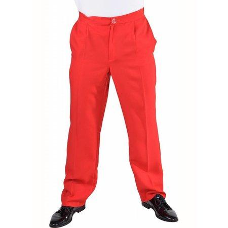 Classic broek rood