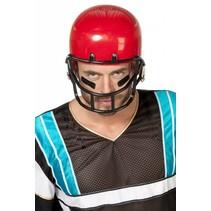 Helm American Footballer rood