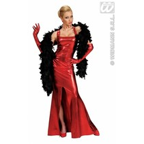 Coctailjurk gala stretch rood