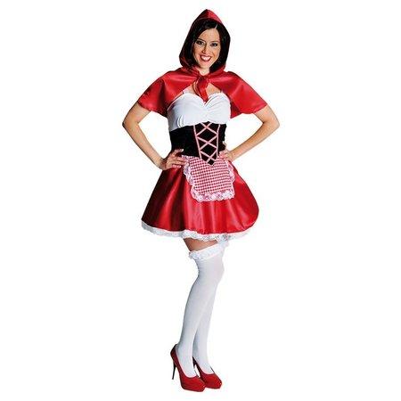 Roodkapje kleding vrouw elite