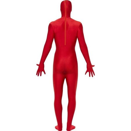 Second skin suit rood