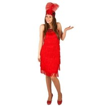Rood Charleston jurkje