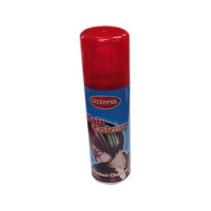 Haarspray fluor rood