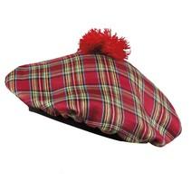 Schotse baret rood