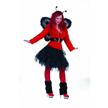 Vestje fuzzy rood