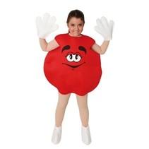 Snoepje kostuum kind rood