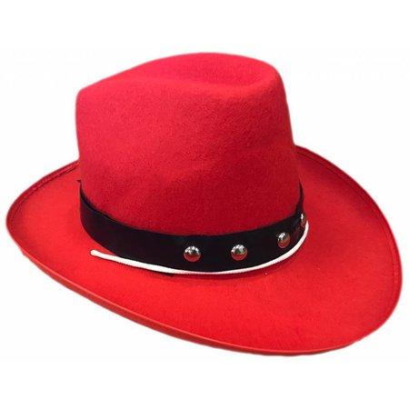 Dallas hoed Cowboy Topper rood
