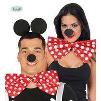 Strik Rood Wit Mouse