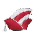 Hoed prins Carnaval Rood/Wit