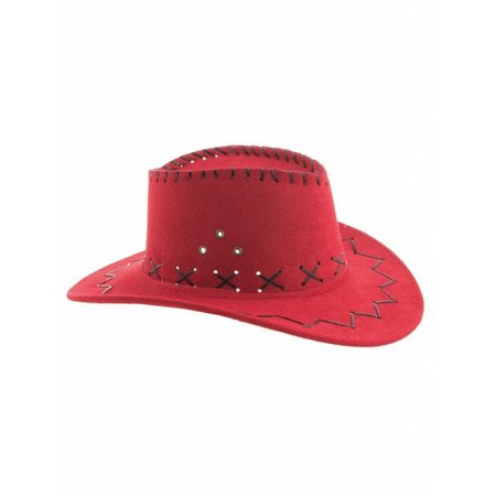 Cowboyhoed rood kind