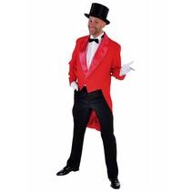 Slipjas rood heren Cabaret half gevoerd