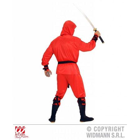 Rode draak ninja pak volwassen