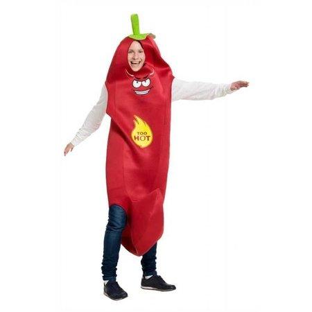 Rode Hete Peper kostuum