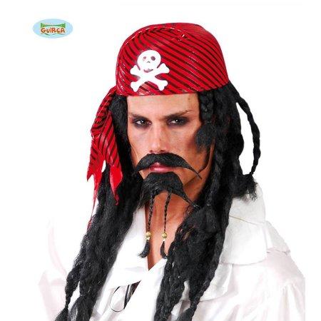 Rode piratencap