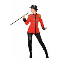 Rode Circus jas dames