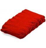 Rode crepe papier slinger 24mtr