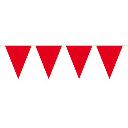 Rode Mini Vlaggenlijn - 3 meter