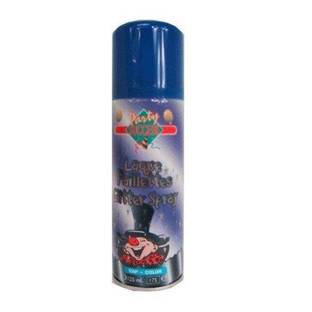 Haarspray glitterblauw 125ml