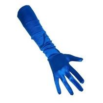 Handschoenen Satijn blauw