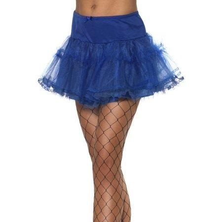 Tule petticoat blauw