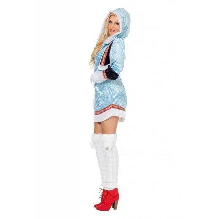 Sexy Eskimo pakje blauw