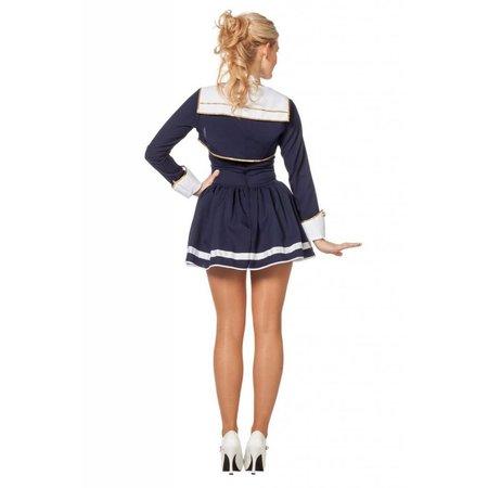 Marine jurk blauw