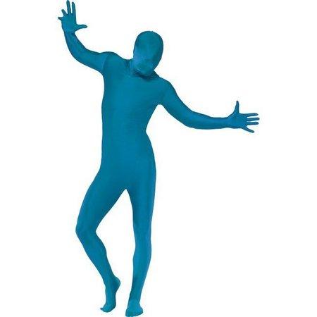 Second skin suit blauw