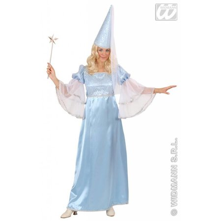 Fee kostuum lichtblauw