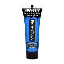 Neon Face & Body paint neon blauw UV G.I.D 10ml