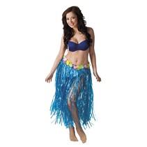 Hawaii rok lang blauw 80cm