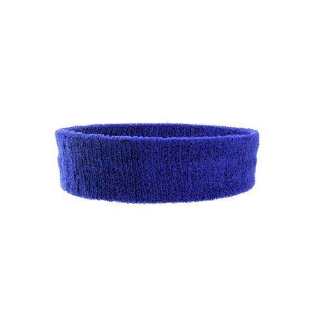Foute blauwe hoofdband