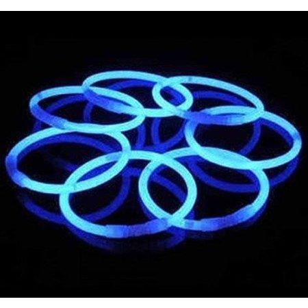 Glow in Dark armbanden blauw