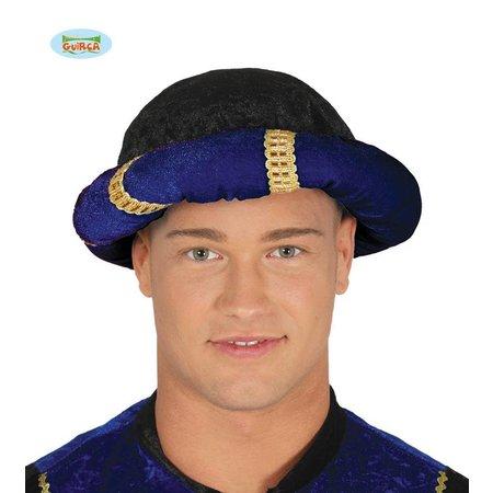 Blauwe tulband Sultan