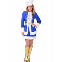 Kozak Kostuum Dame Blauw