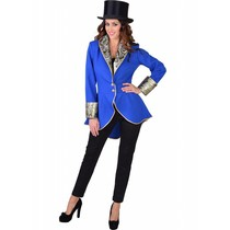 Circus slipjas dames blauw luxe