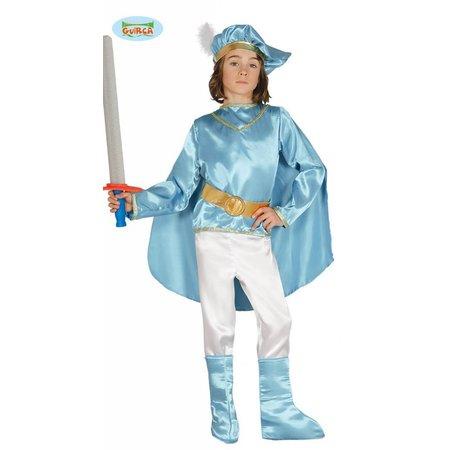 Blauwe Prins kostuum Middeleeuwen