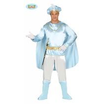 Middeleeuwen Prins kostuum blauw