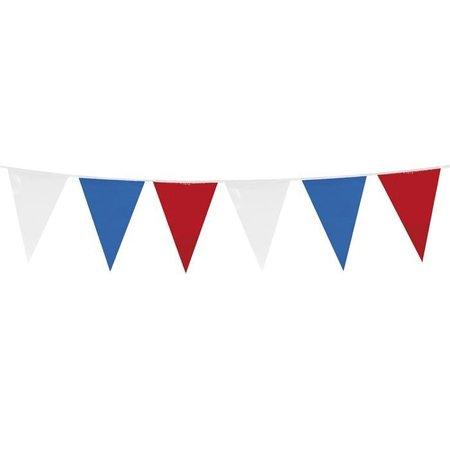 Vlaggenlijn Holland rood/wit/blauw