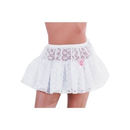 Petticoat kort kant wit