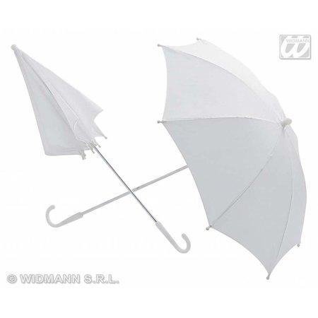 Witte Paraplu 60cm doorsnee