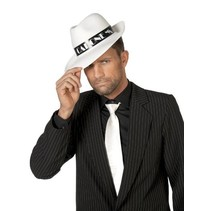Al Capone hoed wit met band