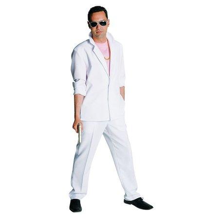 Miami Vice kostuum wit Elite