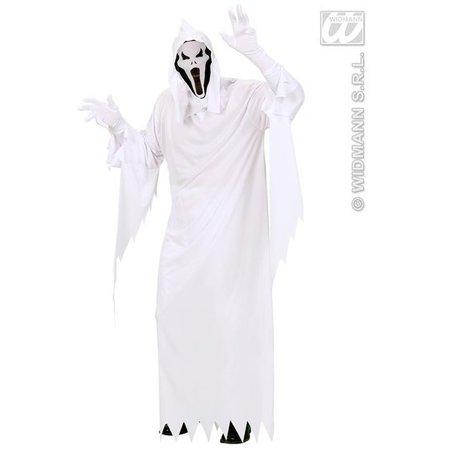 Carnavalskleding: Spook kostuum wit