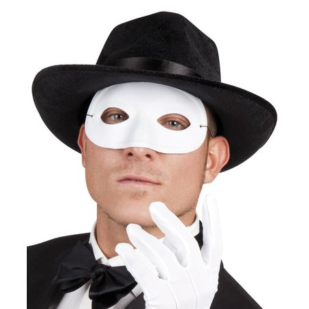 Oogmasker wit
