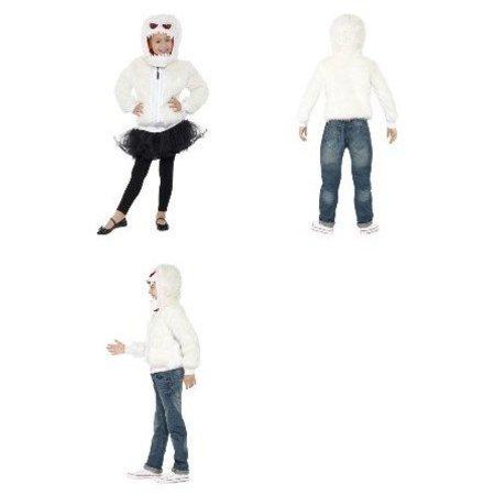 Gruwelijke Monster kostuum wit
