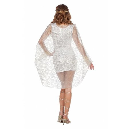 Romeinse schoonheid kostuum wit