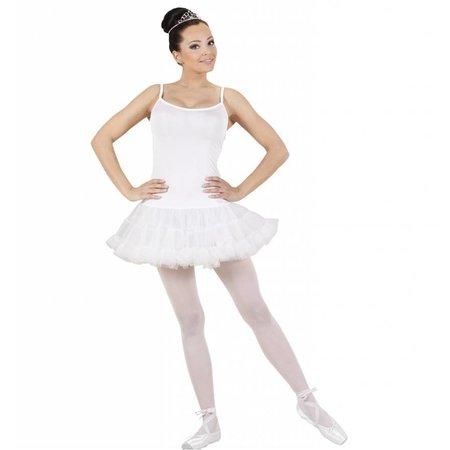 Ballerina pakje vrouw wit