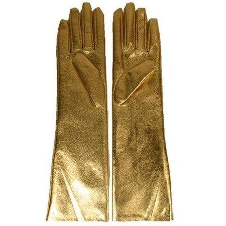 Handschoenen lang goud