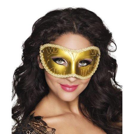 Oogmasker Merel goud