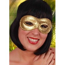 Oogmasker Goud Glitter